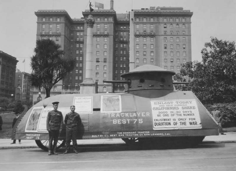 İlk ABD tankı: PR için iyi bir araba!