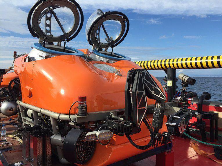 """在黑海,完成了救生设备""""ARS-600""""的测试。"""