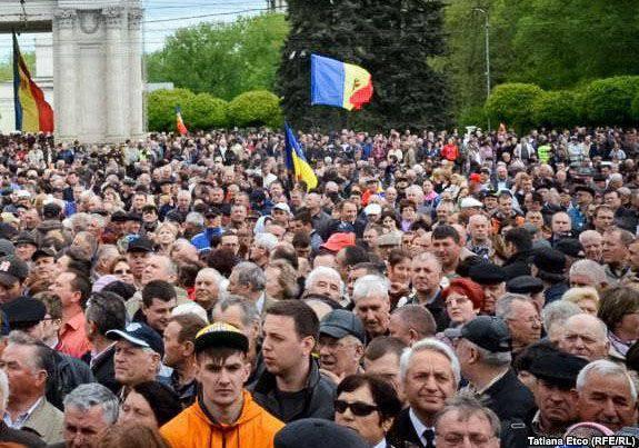 El gobierno de Moldavia renunció