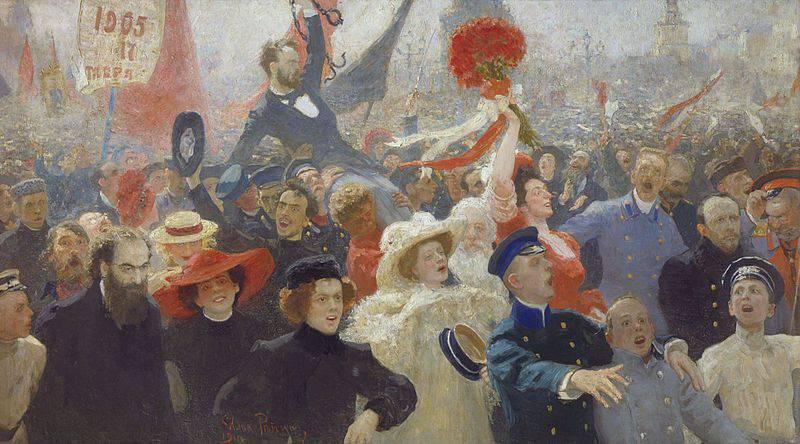 वर्ष के अक्टूबर 17 मैनिफेस्टो 1905 ने और अधिक भ्रम पैदा किया