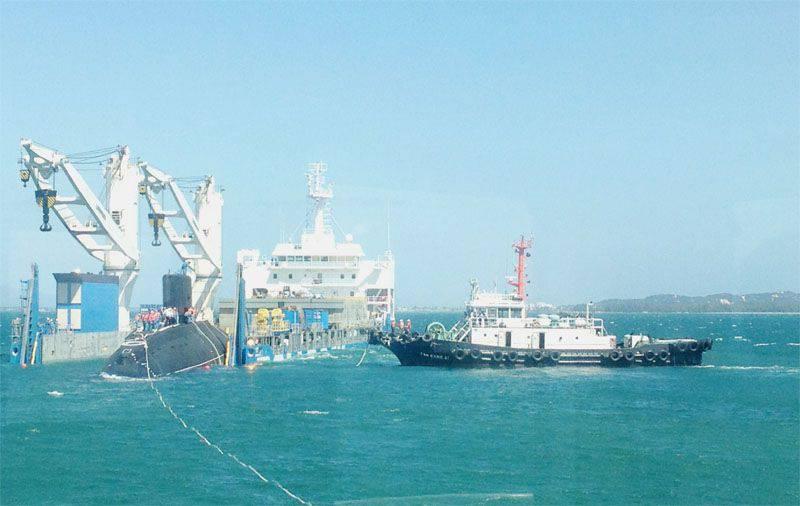 Kamran (Vietnam) deviendra la base pour fournir des navires de guerre japonais?