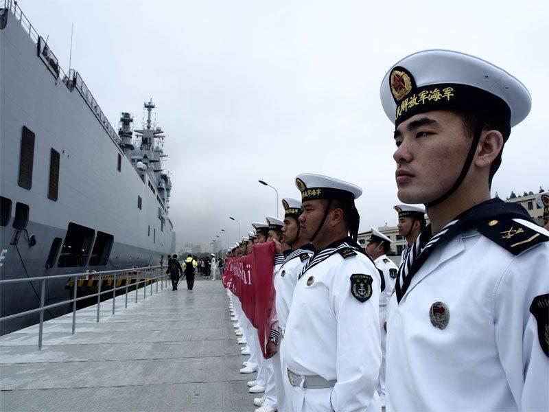 """中华人民共和国海军司令:""""任何在南中国海发生的事件都可能导致战争"""""""