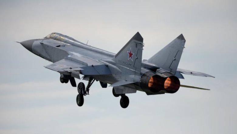 캄차카에서 추락 한 MiG-31의 조종사는 구조 대원에 의해 성공적으로 대피했습니다.