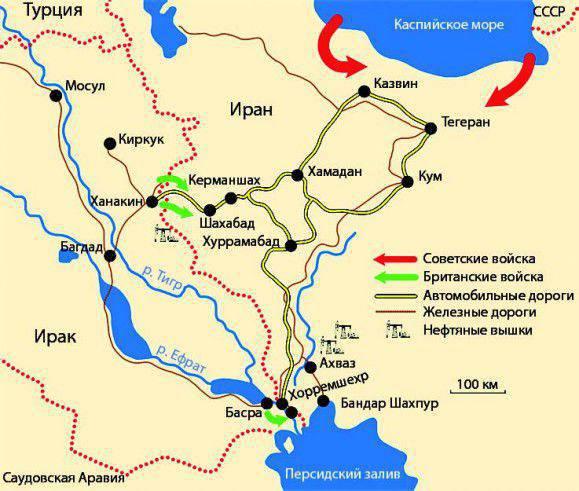 Pérsia Vermelha. Parte do 3. Como o sul do Azerbaijão quase foi para a URSS