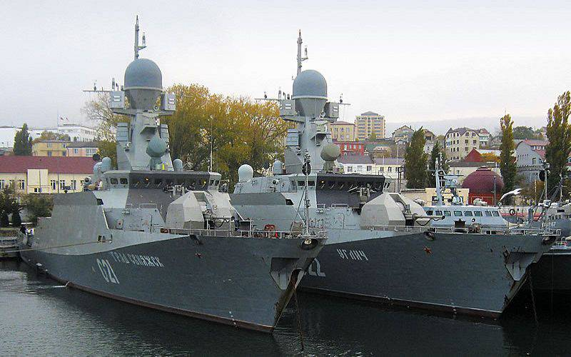 """""""Admiral Gorshkov"""" performed a shooting complex in the White Sea"""