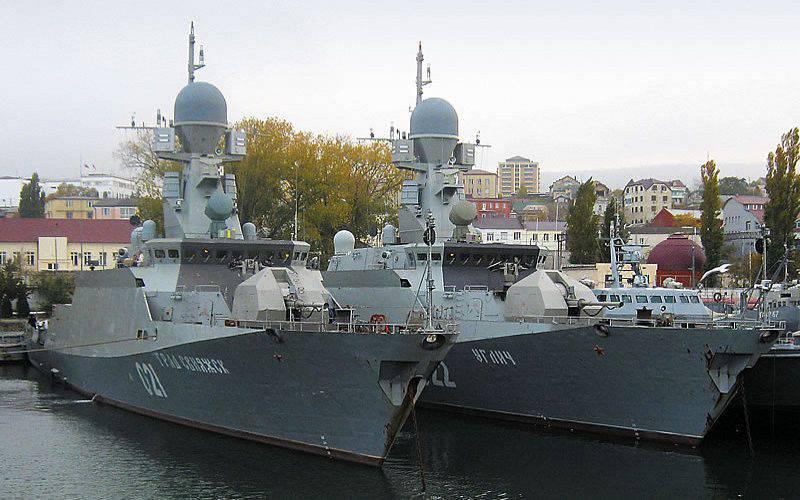 """L'amiral Gorshkov"" a achevé un complexe de tir dans la mer Blanche"