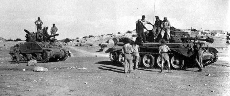 Как ирландец и шотландец угнали для Армии обороны Израиля первые танки