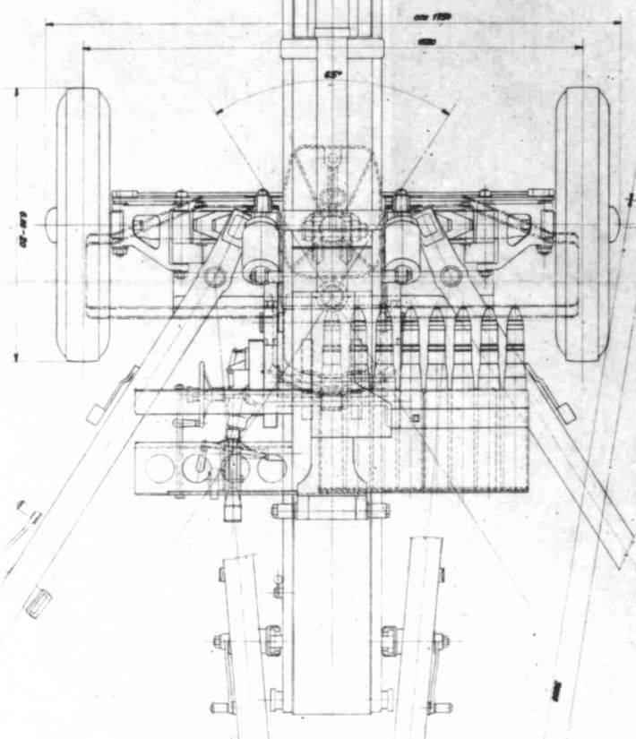 El proyecto de la pistola antitanque automática Škoda SV4.