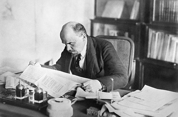 Rusia después de la muerte de Lenin