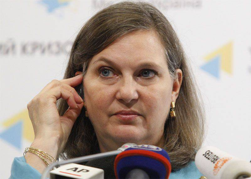 Nuland announced the deployment of Russian artillery in Syria