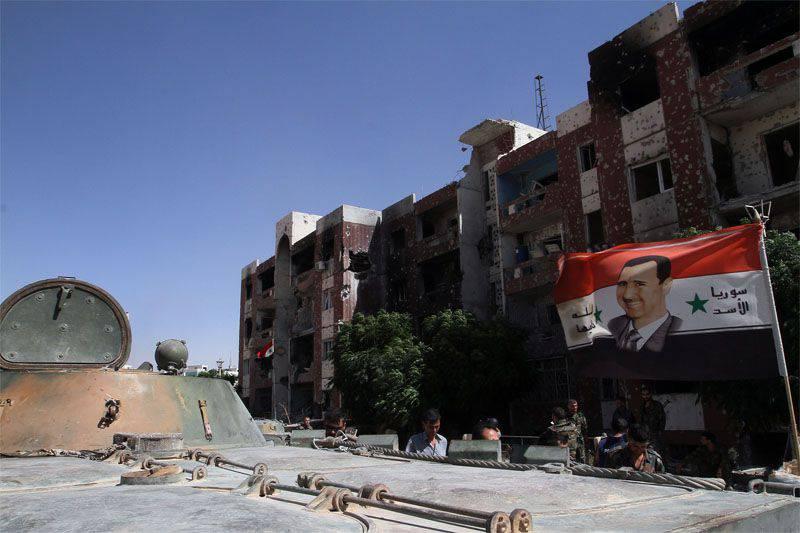 叙利亚武装部队在该国不同省份的行动详情