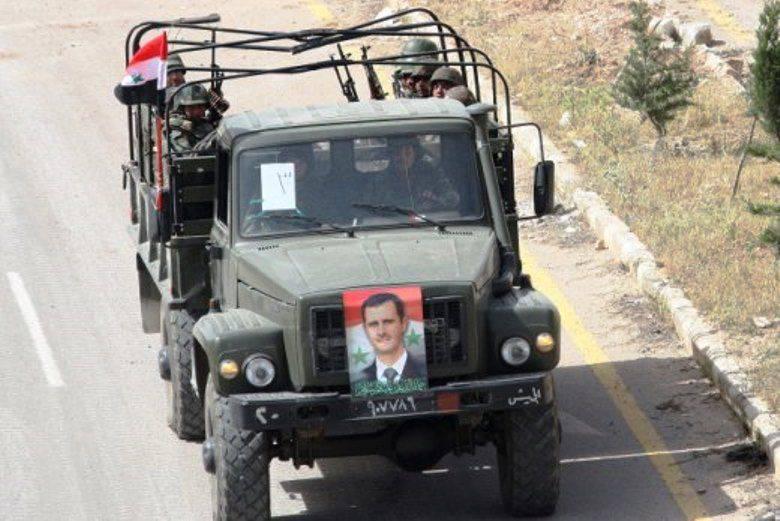 Грузовые автомобили газ в сирии