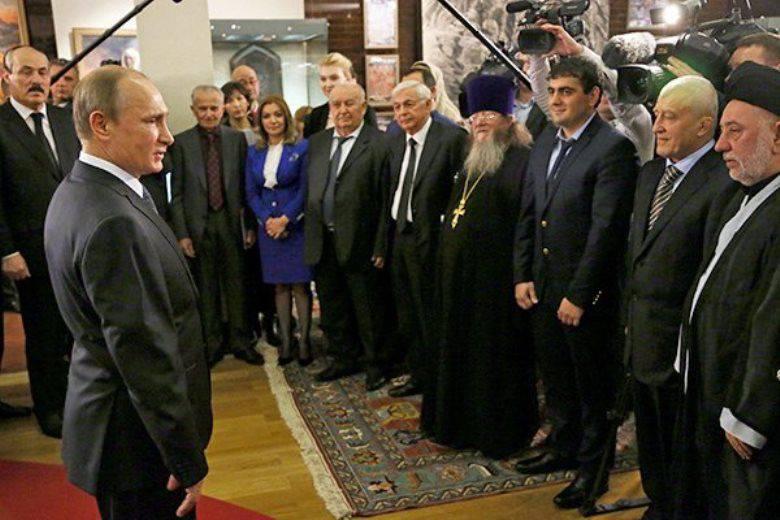 Putin: uma tentativa de intimidar a Rússia é uma ocupação sem esperança