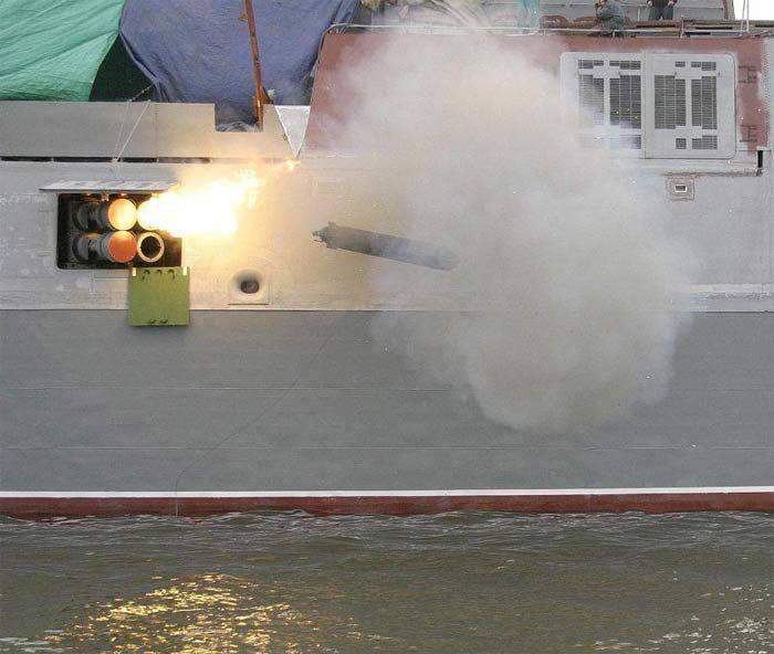 """Complexo de proteção anti-torpedo """"Package-E / NK"""""""