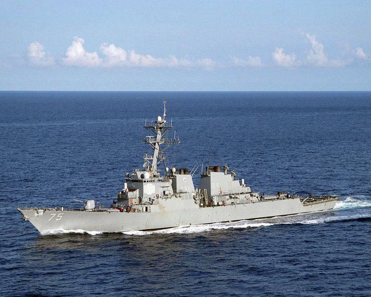 Ministério dos Negócios Estrangeiros da Turquia: os destróieres dos EUA farão constantes aproximações na costa da Turquia