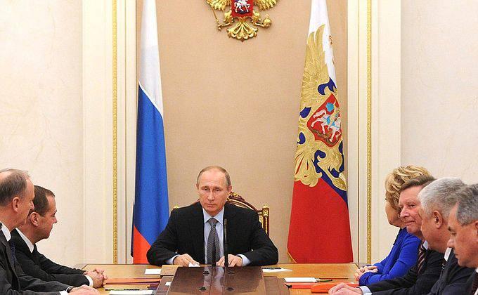 Wladimir Putin unterstützte den Vorschlag des Direktors des FSB, die Flüge russischer Fluggesellschaften nach Ägypten auszusetzen