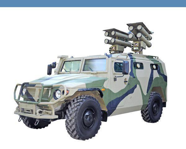 """एंटी टैंक मिसाइल सिस्टम """"कॉर्नेट-डी / ईएम"""""""