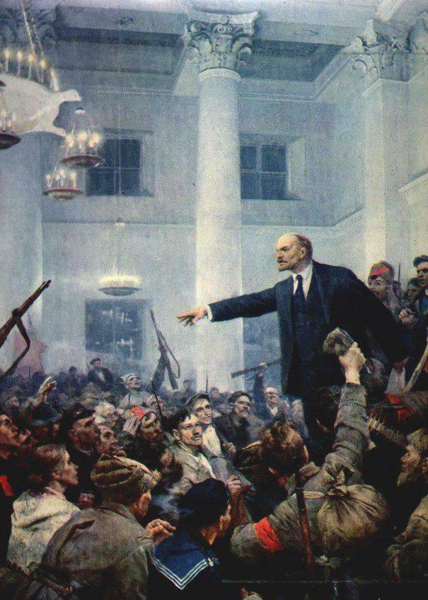 Секс в период большевистской революции