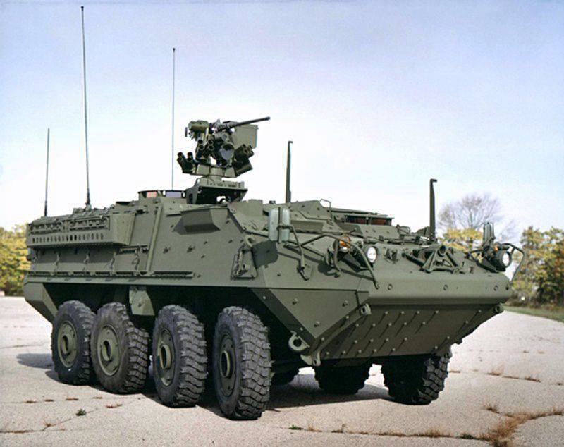 Media: Lithuania sent a request to the United States with a request to approve the sale of Bryot Stryker to it