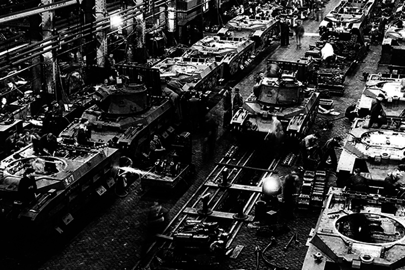 Allied World War II Tank Plants (memories in 18 photos and one video)