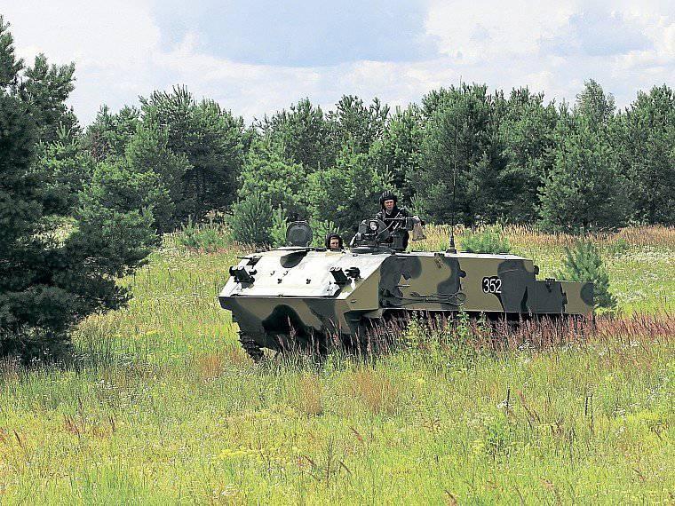 """关于装甲运兵车BTR-MDM""""壳牌""""的报道"""