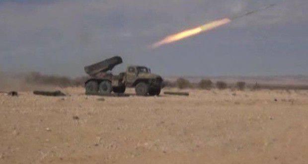 Relatórios sobre as ações das forças armadas sírias no último dia
