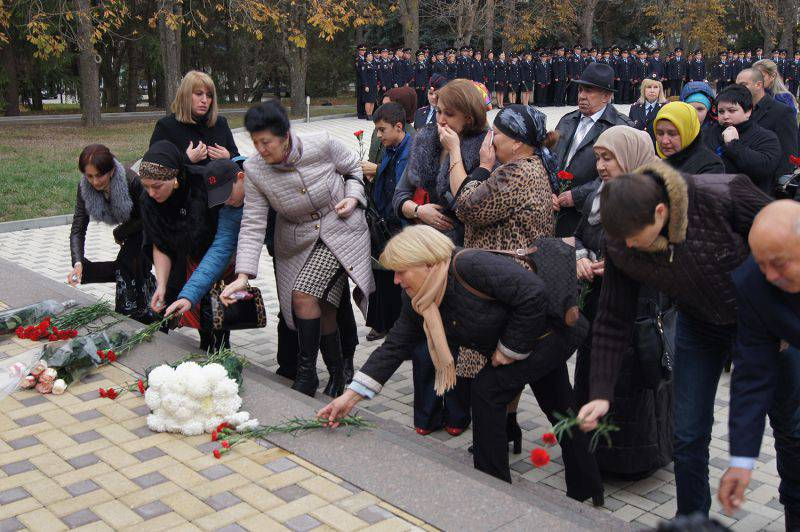 During the anti-terrorist operations in the North Caucasus for 5 years about 900 law enforcement officers were killed