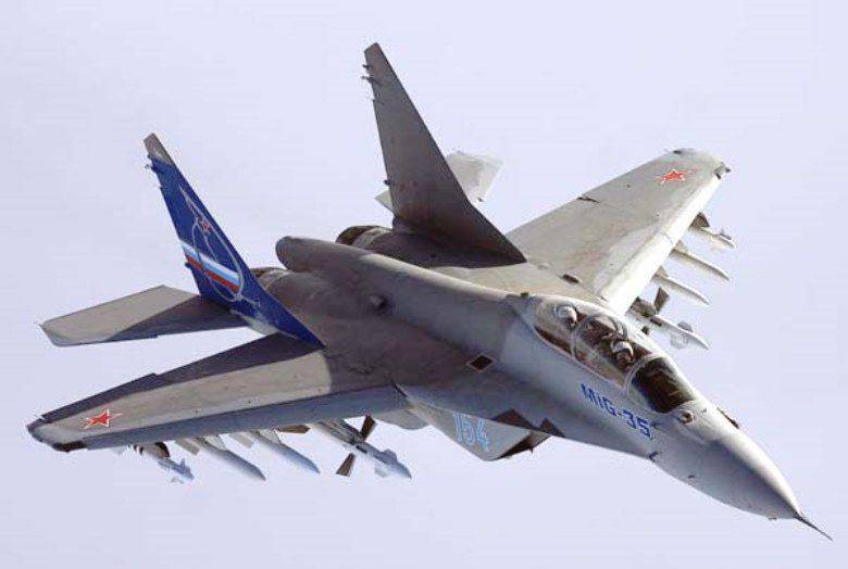New targeting systems for the MiG-35 will be delivered to Egypt next year.