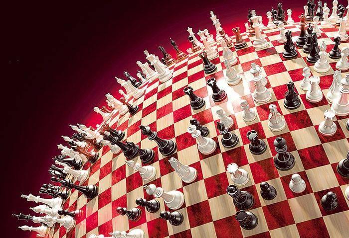 위대한 체스 판 : 러시아가 세계 하이브리드 전쟁에서 승리 할 수있는 방법