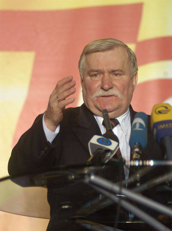"Lech Walesa told about ""probable mediation in resolving the Syrian crisis"" and about the ""freedom of Poland"""