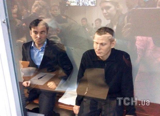 ロシア人AleksandrovとYerofeyevは、ウクライナで彼らに対する起訴に対する罪悪感を認めません