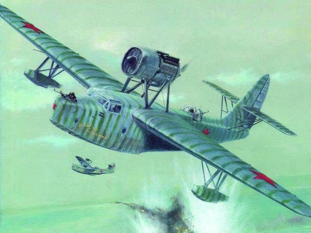 The combat work of the Baltic air reconnaissance
