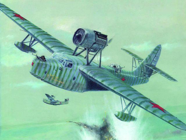 バルト航空偵察の戦闘作業