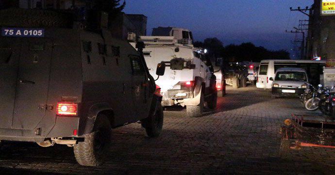 Diyarbakır 지방에서 부상당한 19 터키 병사들