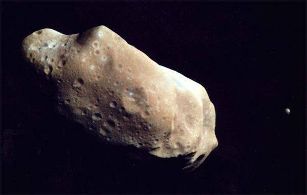 Os americanos se permitiram minerar minerais em objetos espaciais