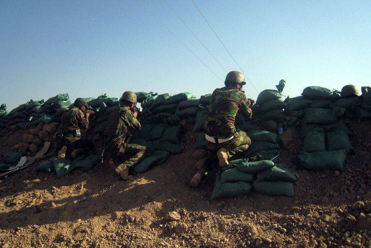 Iraqi Kurds went on the offensive in the north