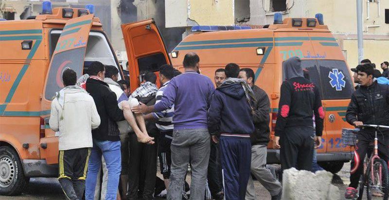 Боевики ИГ взяли на себя ответственность за серию терактов в провинции Северный Синай (Египет)