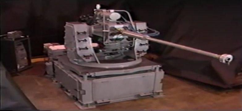 El proyecto de pistola electroquímica 60 mm Rapid Fire ET Gun (EE. UU.)