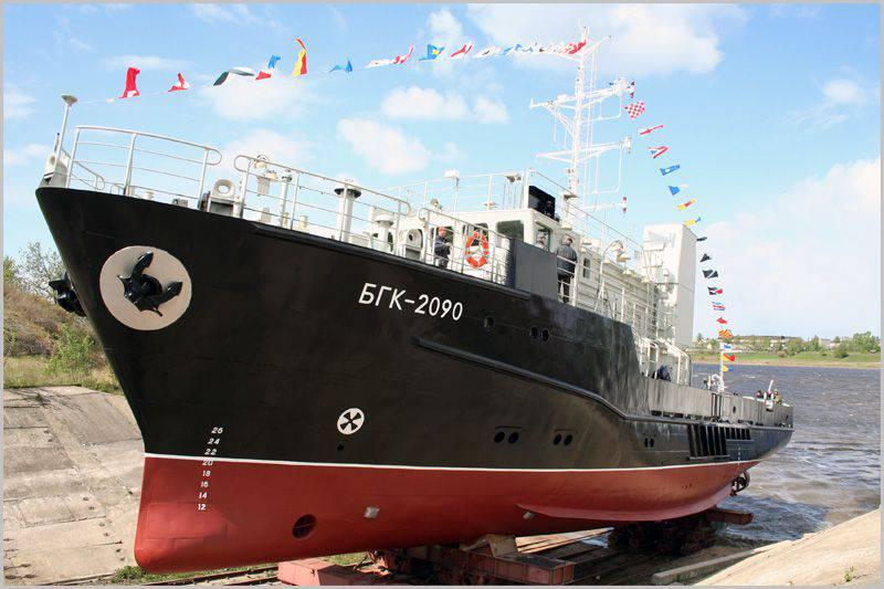 Baltık Filosuna ayın sonuna kadar yeni bir hidrografik tekne kabul edilecek.