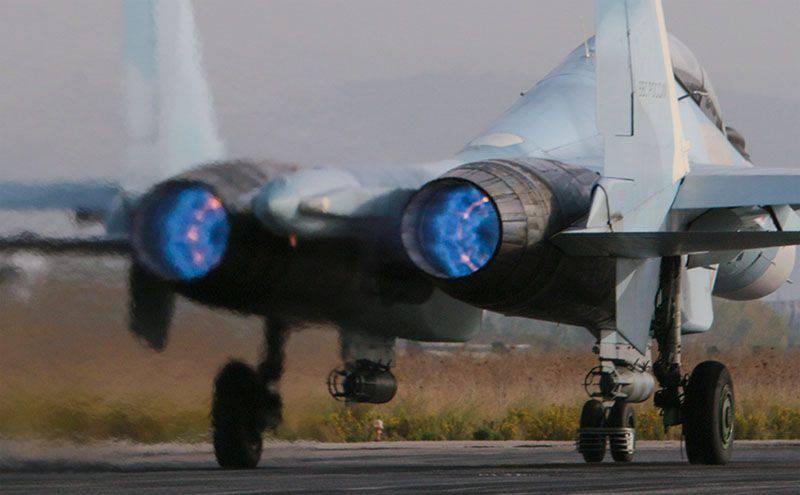 Il Ministero della Difesa fornisce informazioni sulle azioni dell'aviazione delle forze spaziali russe in Siria per novembre 11-12