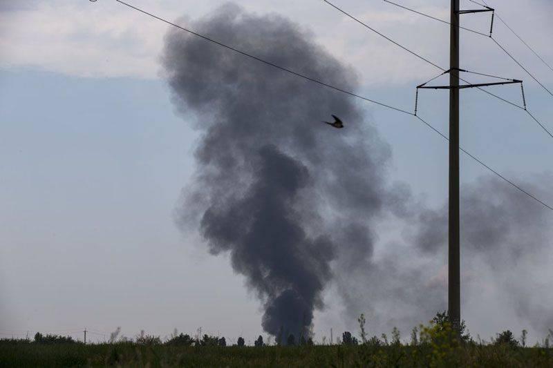 Ukraynalı helikopter Slovakya'da düştü