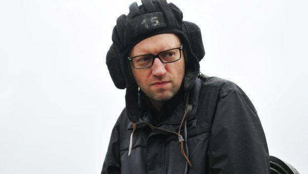 """诊所 Yatsenyuk将巴黎的袭击与俄罗斯联邦的活动""""联系起来"""""""
