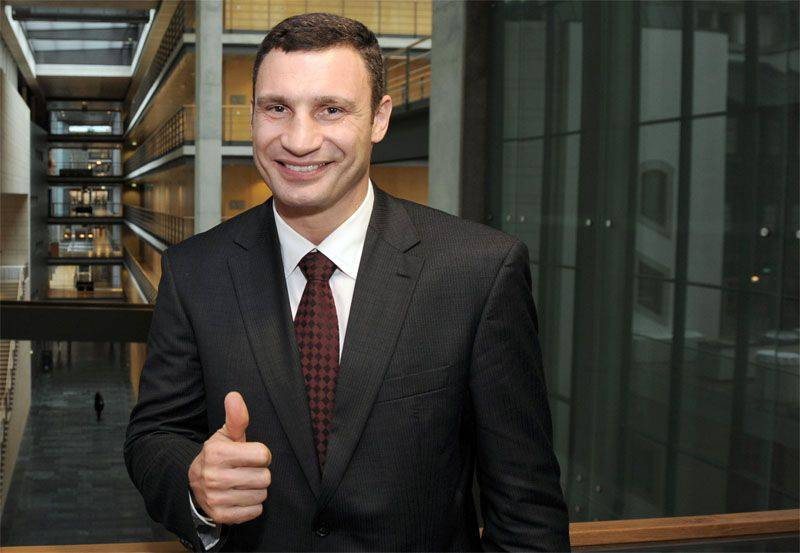 In the second round of elections in Kiev, Klitschko won