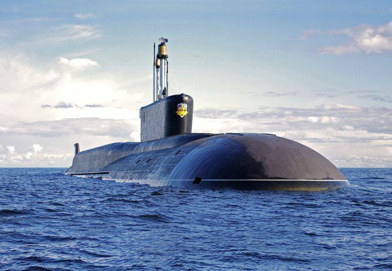 The commander of the VO visited with verification the base of the Pacific Fleet built for the submarine of the Borey project