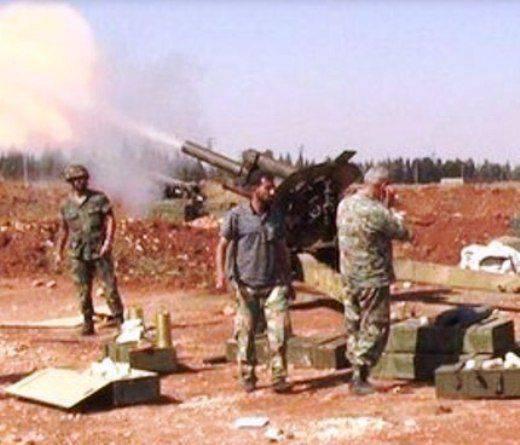 I vecchi dei della guerra: artiglieria rara nella guerra siriana