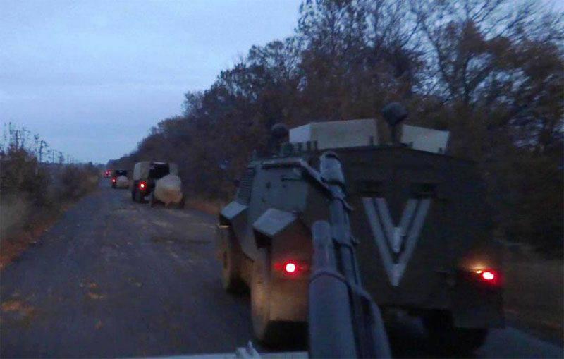 乌克兰武装部队武装部队在克里米亚边境附近进行演习