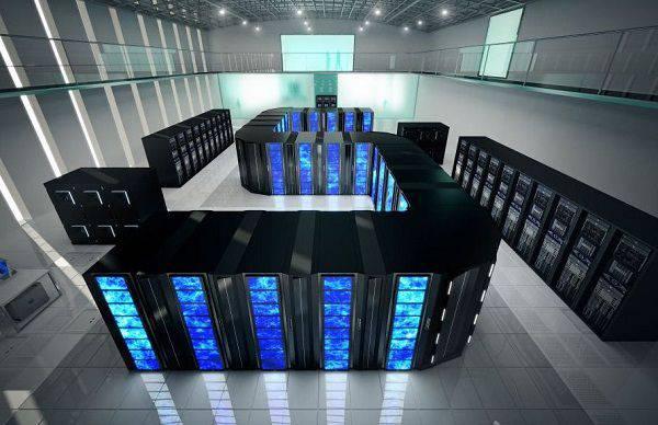 未使用的超级计算机的4,9十亿卢布