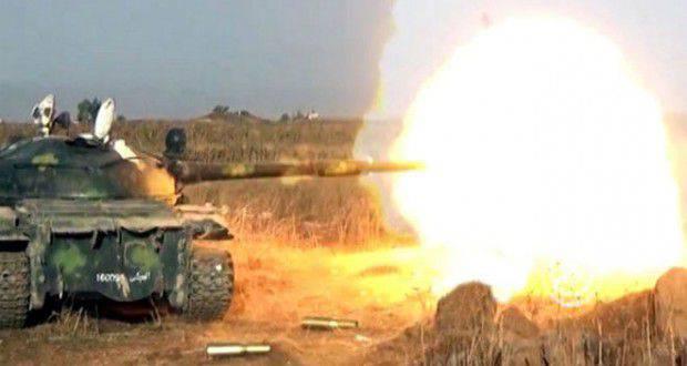 Un résumé des actions de l'armée syrienne pour novembre 17