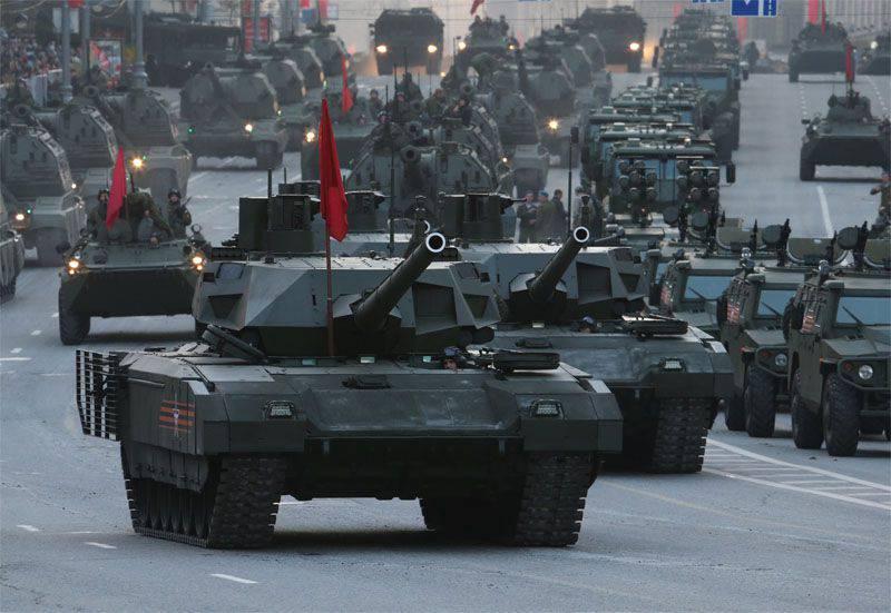 20 tanques T-14 Armata preparados para transferência para tropas