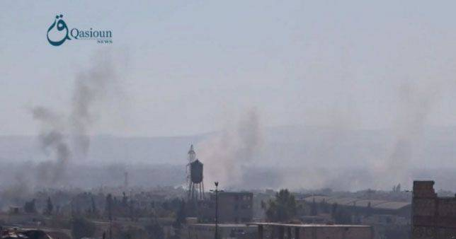 """Two-story"" war in the suburb of Damascus Jobar"